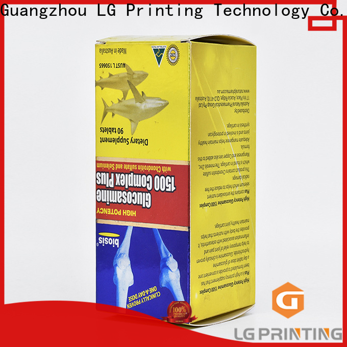 LG Printing Customized cardboard boxes with logo manufacturers for products package