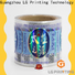 LG Printing Quality hologram foil labels company for package