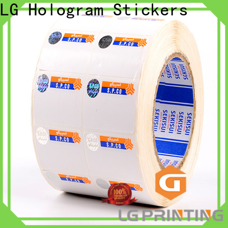 LG Printing hologram printing price for goods