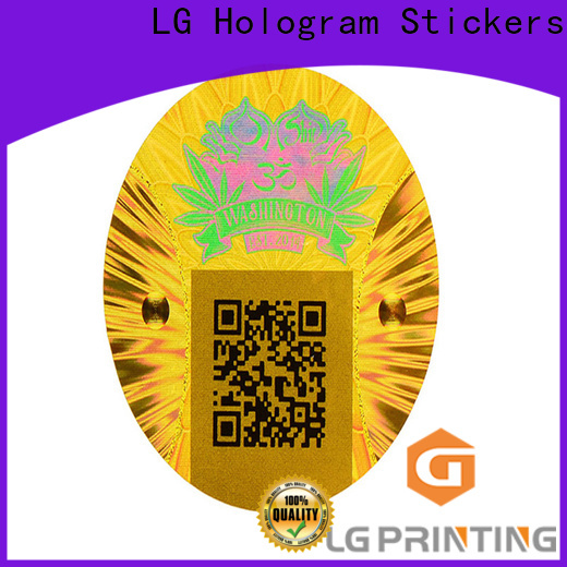 Custom create hologram sticker one time factory for pharmaceuticals