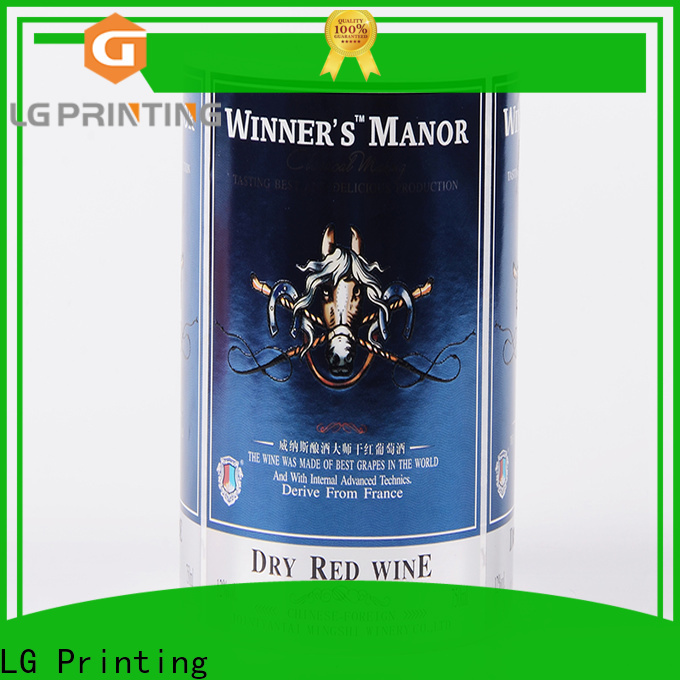 Customized packaging industry foil wholesale for wine bottle