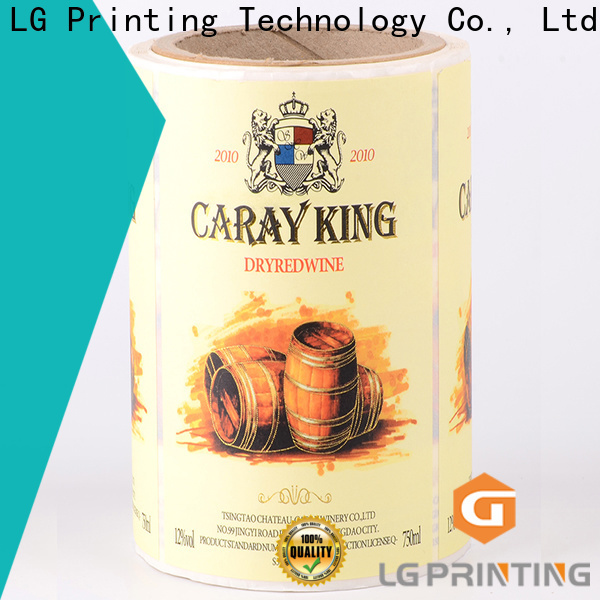 LG Printing red custom printed boxes wholesale factory for bottle