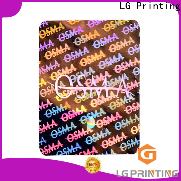LG Printing High-quality adhesive sticker wholesale for electronics