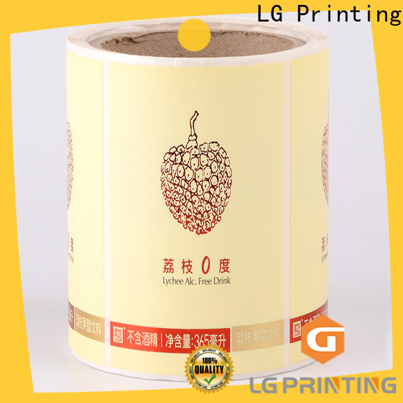 LG Printing Bulk buy purpose of packaging vendor for cans