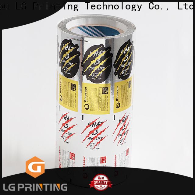 LG Printing Customized digital labels wholesale for jars