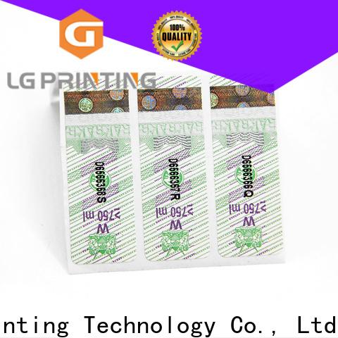 LG Printing label 122 vendor for cosmetics