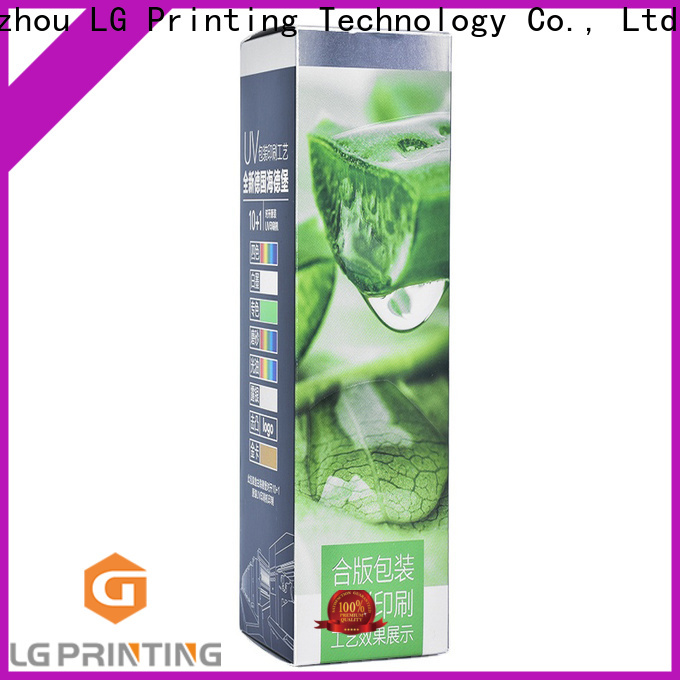 LG Printing High-quality personalised packaging for products package