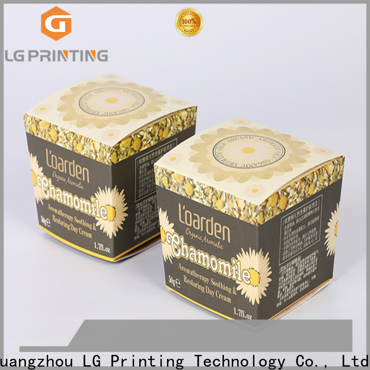 LG Printing small box printing wholesale for products package