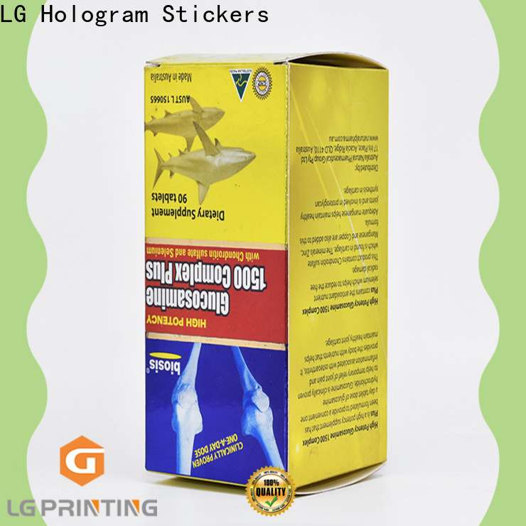 LG Printing custom printed product boxes factory for products package