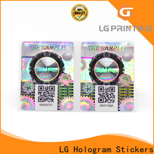 LG Printing Best qr code anti counterfeiting company for bottles