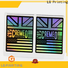 Buy holographic circle stickers company for package