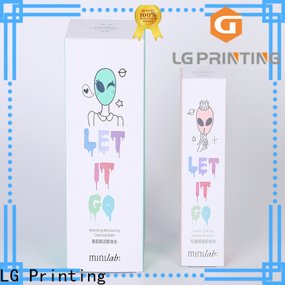 LG Printing custom designed boxes price for all kinds of goods