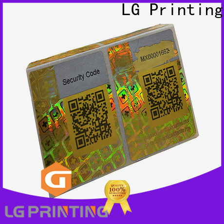 LG Printing Bulk buy making hologram stickers cost for electronics