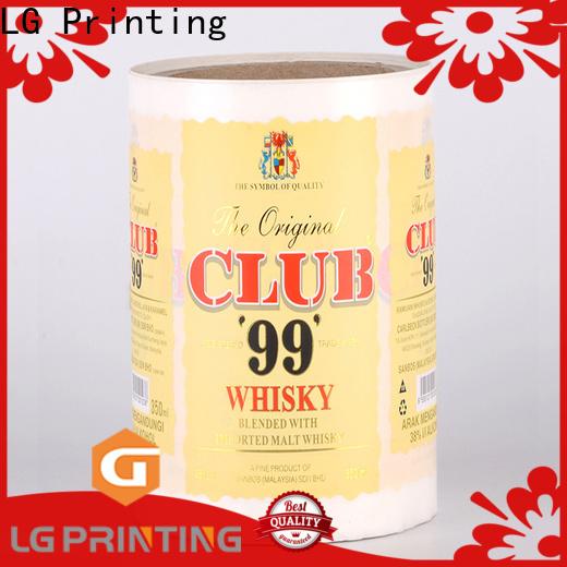 LG Printing Top shorewood packaging price for wine bottle