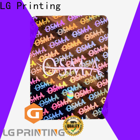 LG Printing gold waterproof sticker labels price for pharmaceuticals