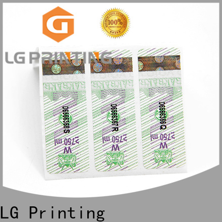Custom made counterfeit packaging factory price for bottles