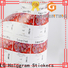 Bulk buy custom clear labels silver manufacturers for jars