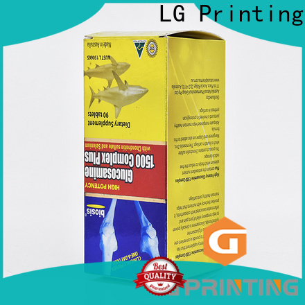 LG Printing boxes with logo printed manufacturers for all kinds of goods