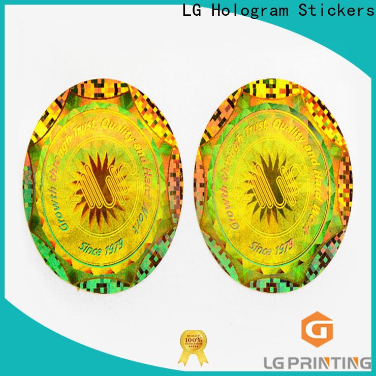 LG Printing Buy hologram sticker printing machine wholesale for electronics