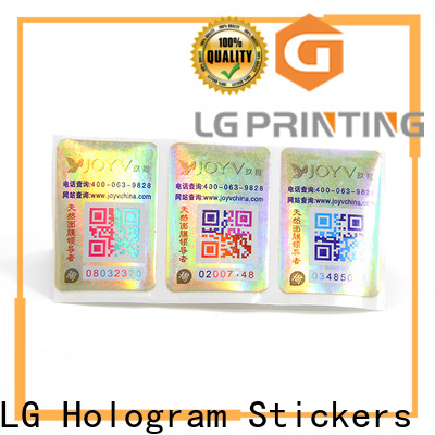 LG Printing sticker label paper supply for products