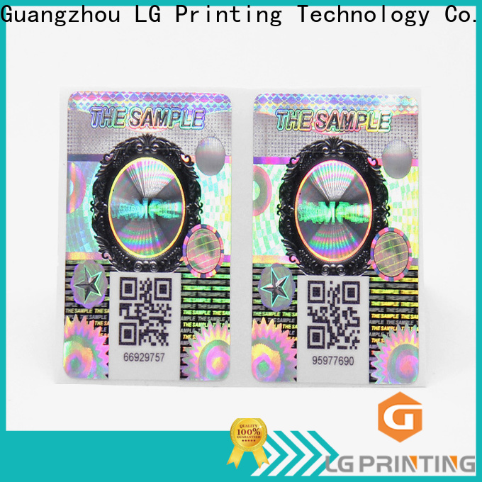 LG Printing holographic label printers wholesale for bottles