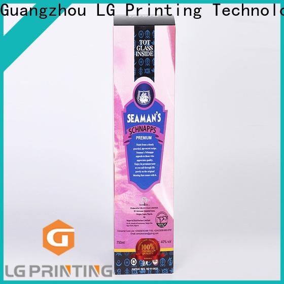 LG Printing printed presentation boxes price