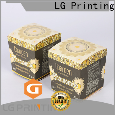 LG Printing custom packaging boxes with logo company for products package