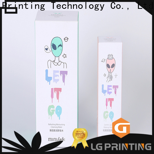 LG Printing custom jewelry boxes with logo cost
