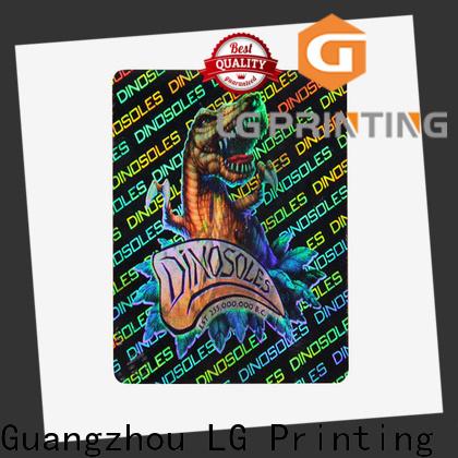 LG Printing Quality design your own hologram sticker vendor for electronics