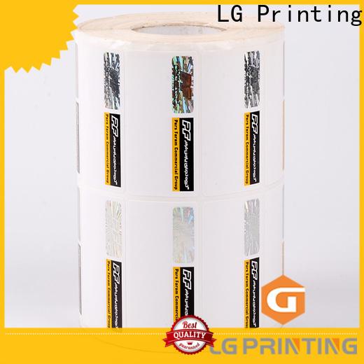 LG Printing sticker