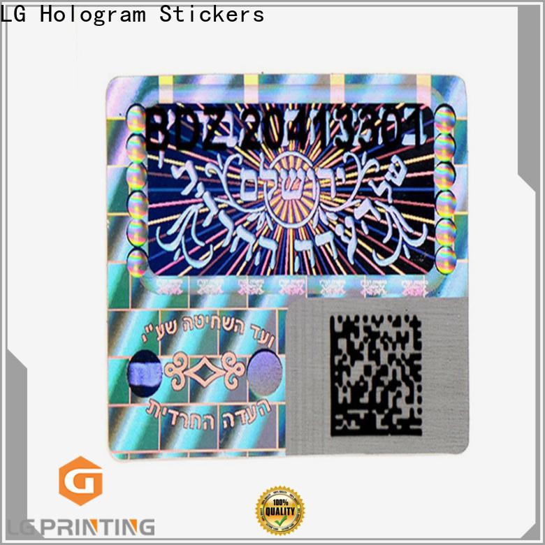 LG Printing silver tech company stickers company for electronics