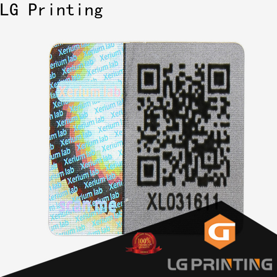 High-quality hologram security label gold cost for electronics