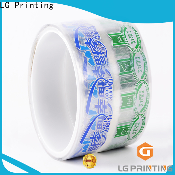 LG Printing silver purpose of packaging vendor for jars