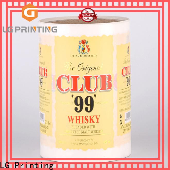 Buy shipping label printer pvc company for bottle