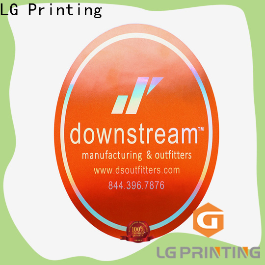 LG Printing 3d hologram sticker manufacturers for package