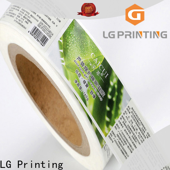 LG Printing silver decal printers for sale vendor for wine bottle