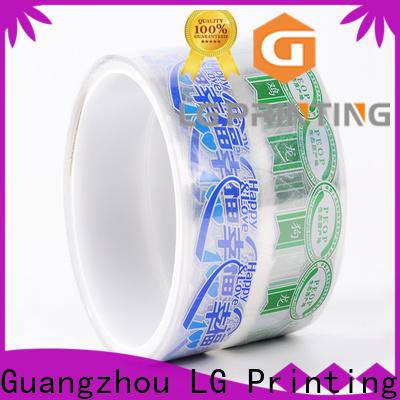 LG Printing foil vinyl stickers for bottles company for wine bottle