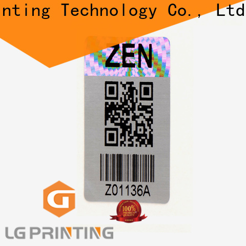 LG Printing Buy small hologram stickers cost for pharmaceuticals