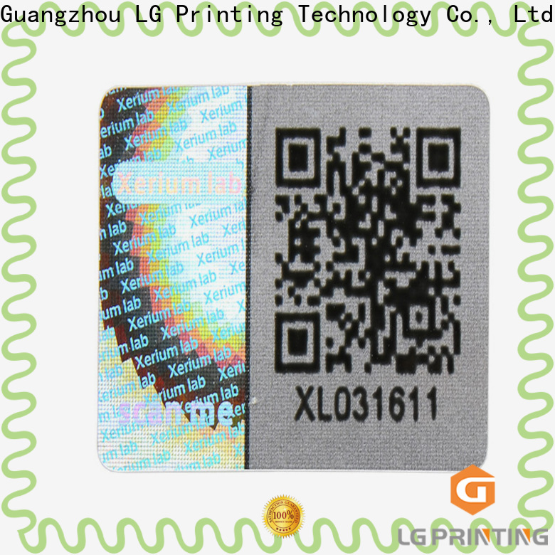 wholesale sticker printing barcode factory for garment hangtag