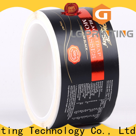 LG Printing foil printed boxes wholesale supply for wine bottle