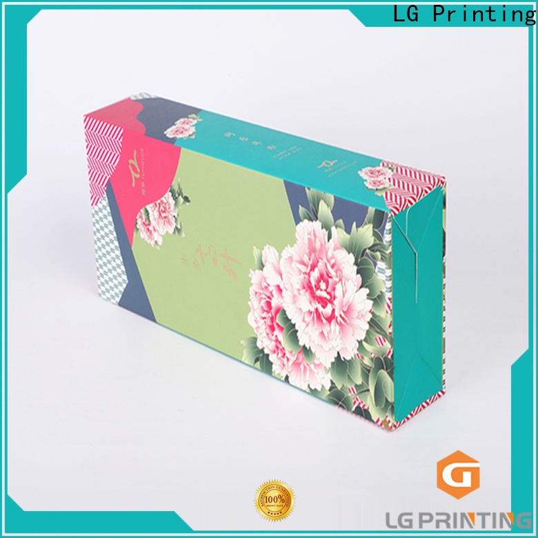 LG Printing Bulk buy cheap printed boxes cost for all kinds of goods