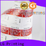 Quality round sticker labels silver factory price for cans