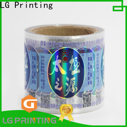 Buy holographic vinyl stickers supply for bottle package