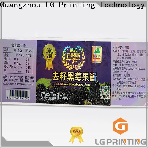 LG Printing holographic sticker maker for bottle package