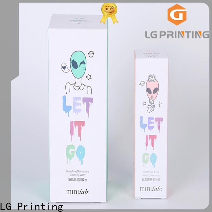 LG Printing Bulk custom lip gloss boxes wholesale company