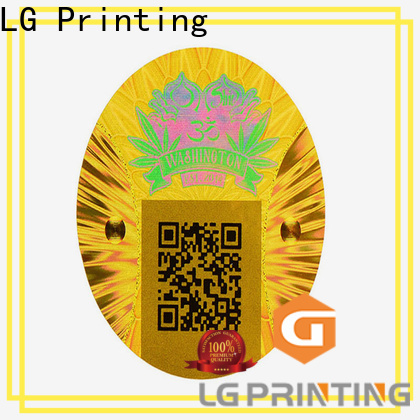 LG Printing numbering adhesive sticker paper factory price for garment hangtag