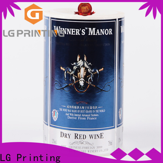 LG Printing Professional cheap custom boxes cost for cans