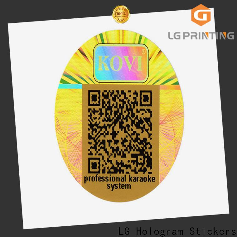 LG Printing golden waterproof stickers for bottles vendor for electronics