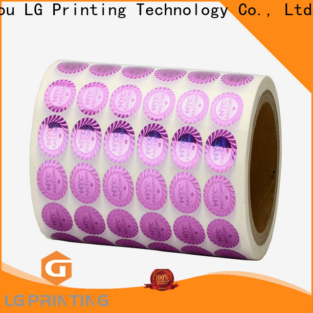 Professional custom holographic stickers hologram factory price for pharmaceuticals