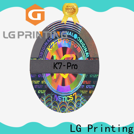 Custom made holographic stickers custom one for electronics